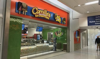 Camille's Ice Cream Bars (US) Lands in Dallas Fort Worth Airport