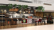 International franchise concept based on high quality coffee